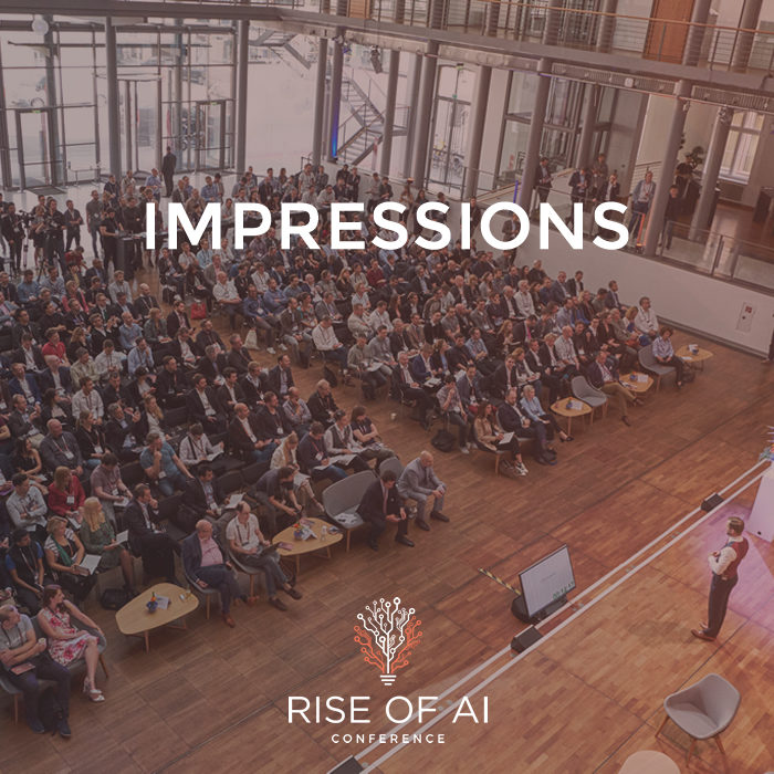Impressions past Rise of AI Conferences
