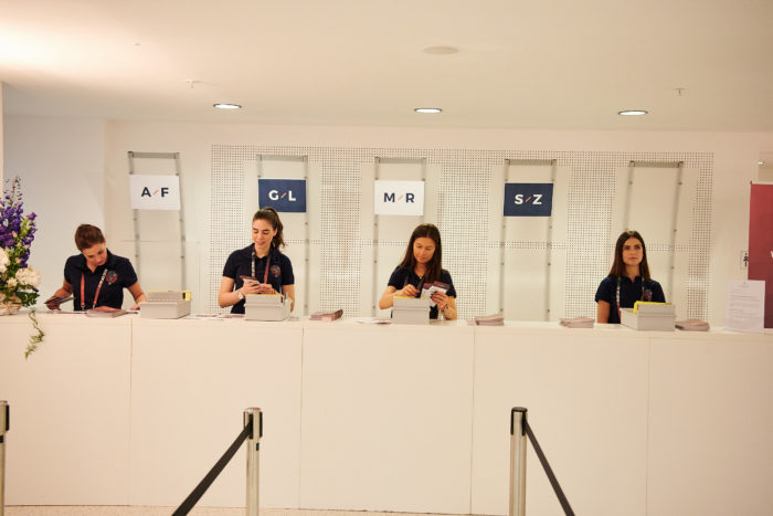 Rise of AI Conference Check-in