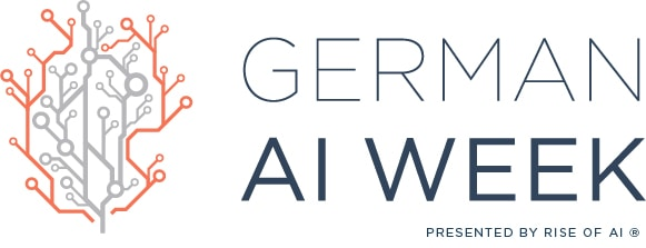 Logo German AI Week - Rise of AI - Deutsche KI Woche
