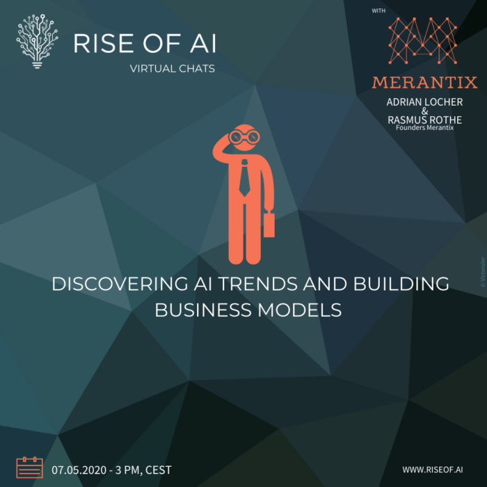 Rise of AI Virtual Chat with Merantix 2020