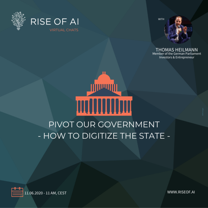 Rise of AI Virtual Chat - Thomas Heilmann - Pivot the Government 1x1