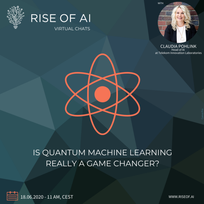 Rise of AI Virtual Chat with Claudia Pohlink - Quantum Machine Learning