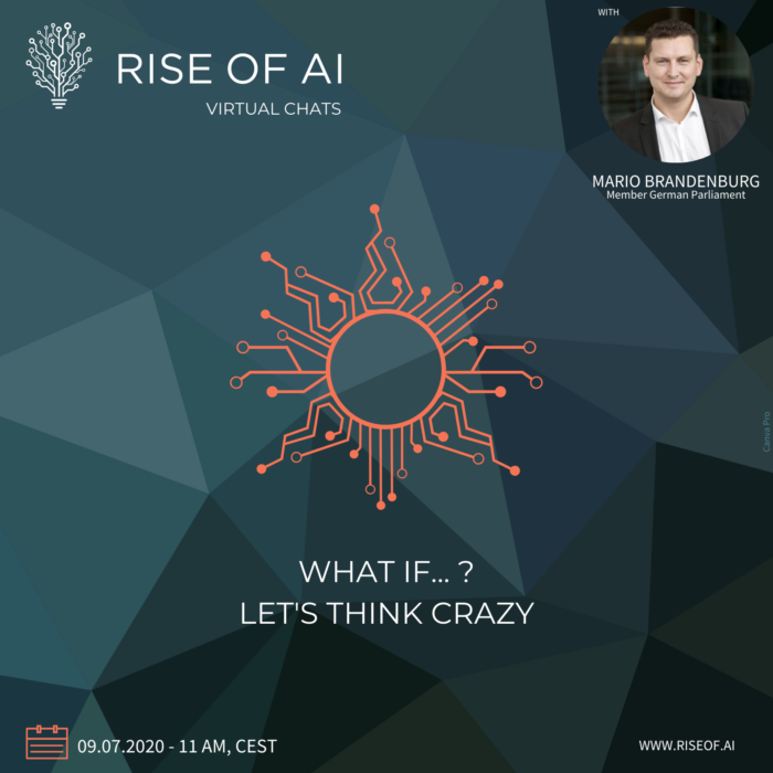 Rise of AI Virtual Chat with Mario Brandenburg WHAT IF